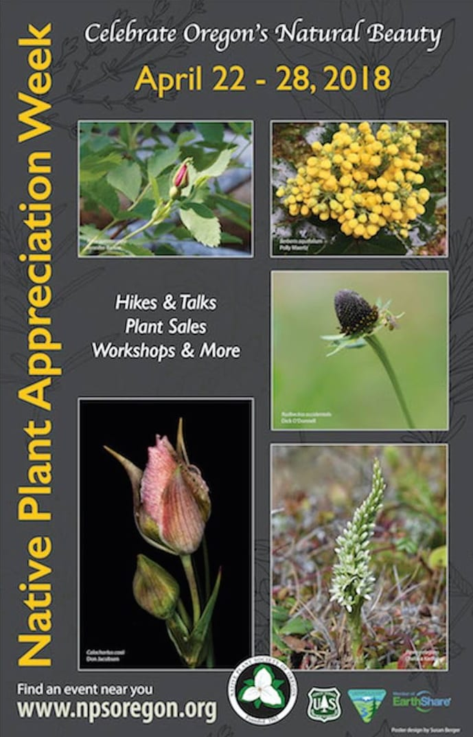 2018 Oregon Native Plant Appreciation Week