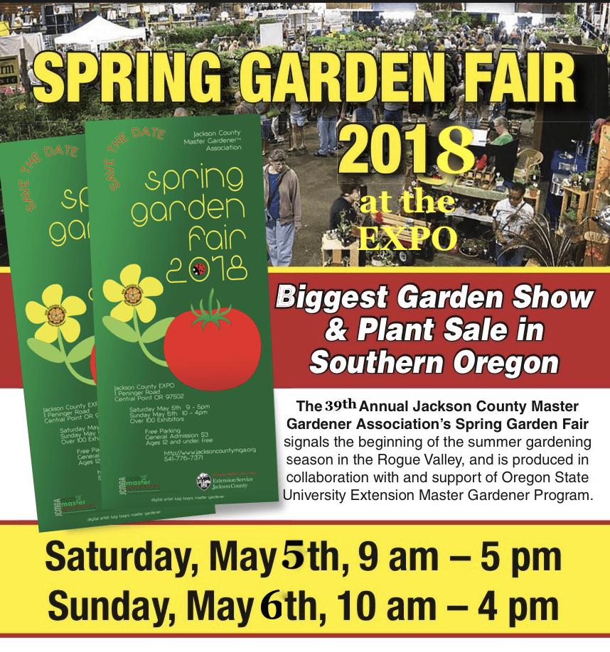 Jackson County Master Gardener Spring Garden Fair