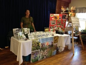 Klamath-Siskiyou Native Seeds tabling
