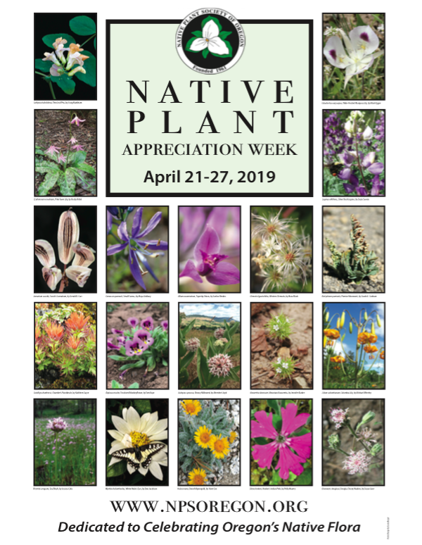 NPSO Oregon Native Plant Appreciation Week