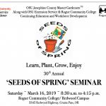 Seeds of Spring Seminar