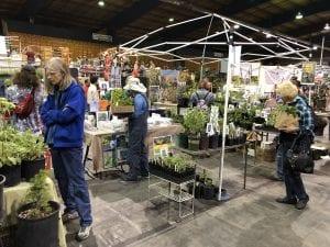 KSNS booth at the Jackson County Master Gardener's Spring Garden Fair